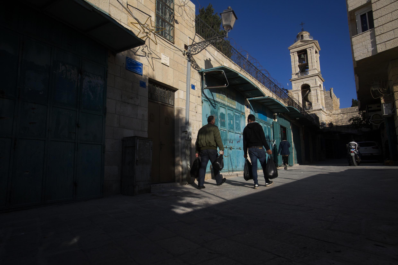 Cisjordanie - Bethléem - Absence de pèlerins