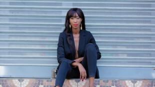 Amenan Tanoh, mannequin et blogueuse ivoirienne.