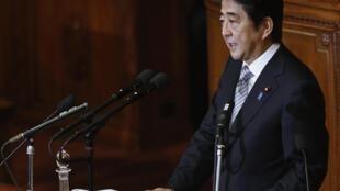 Thủ tướng Nhật Shinzo Abe. Ảnh ngày 29/09/2014.