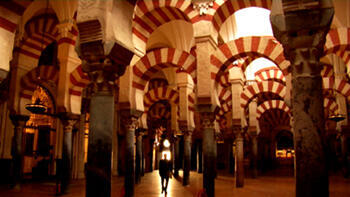 The Great Mosque of Cordoba, a production still from the film