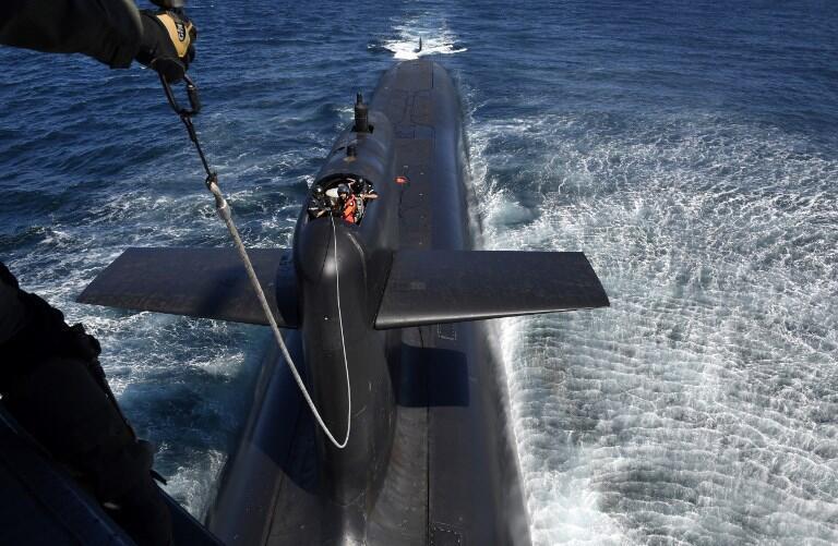 «Le Terrible», sous-marin nucléaire de l'armée française.