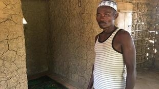 In Rogbasha, Sierra Leone, Imam Mohamed Konteh shows his dilapidated mosque