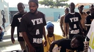 Des membres du mouvement «Yen a marre».
