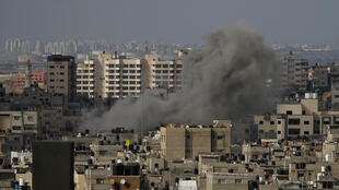 gaza bombardements