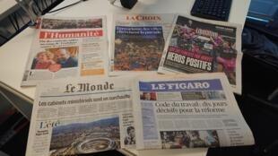 Diários franceses 21.08.2017