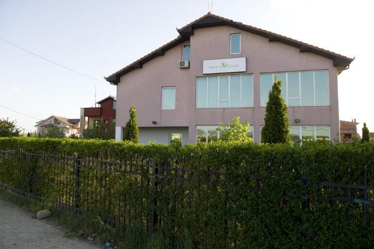 La clinique Medicus au Kosovo où l'on transplantait illégalement les organes humains.