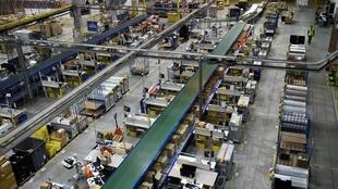 The Amazon distribution centre in Saran, France