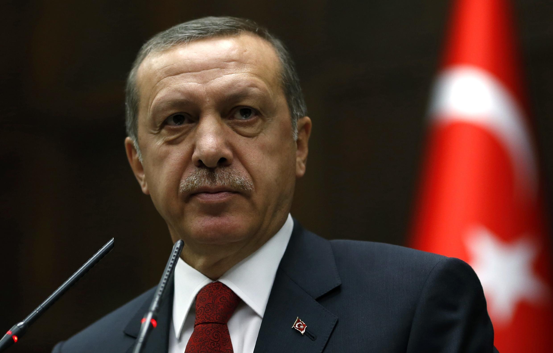 Премьер-министр Турции Реджеп Тайип Эрдоган, 22 апреля 2014 года