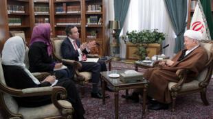 """اکبر هاشمی رفسنجانی- رئیس مجمع تشخیص مصلحت نظام، در گفتوگو با نشریه آمریکائی """"فایننشال تایمز"""""""
