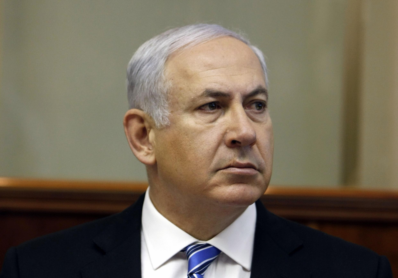 O primeiro-ministro israelense, Benjamin Netanyahu, falou sobre negociações de paz com a Palestina
