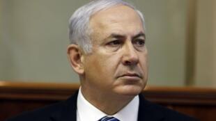 O primeiro-ministro israelense, Benjamin Netanyahou