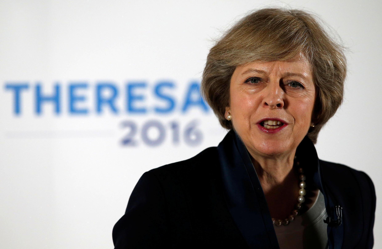 Theresa May, a nova premiê britânica, em imagem de 11 de julho de 2016.