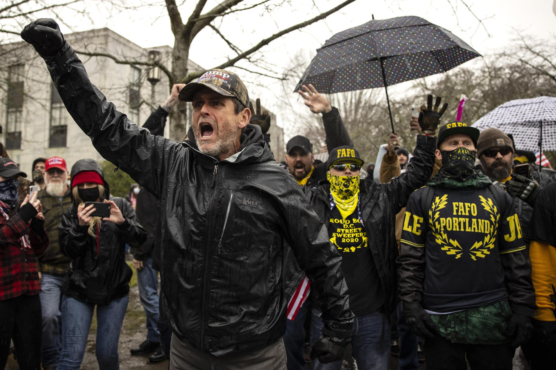 PHOTOS Milices USA - 6 janvier 2021