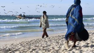 Port de pêche de Nouakchott, en Mauritanie (illustration).