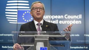 Presidente da Comissão Europeia, Jean-Claude Juncker.