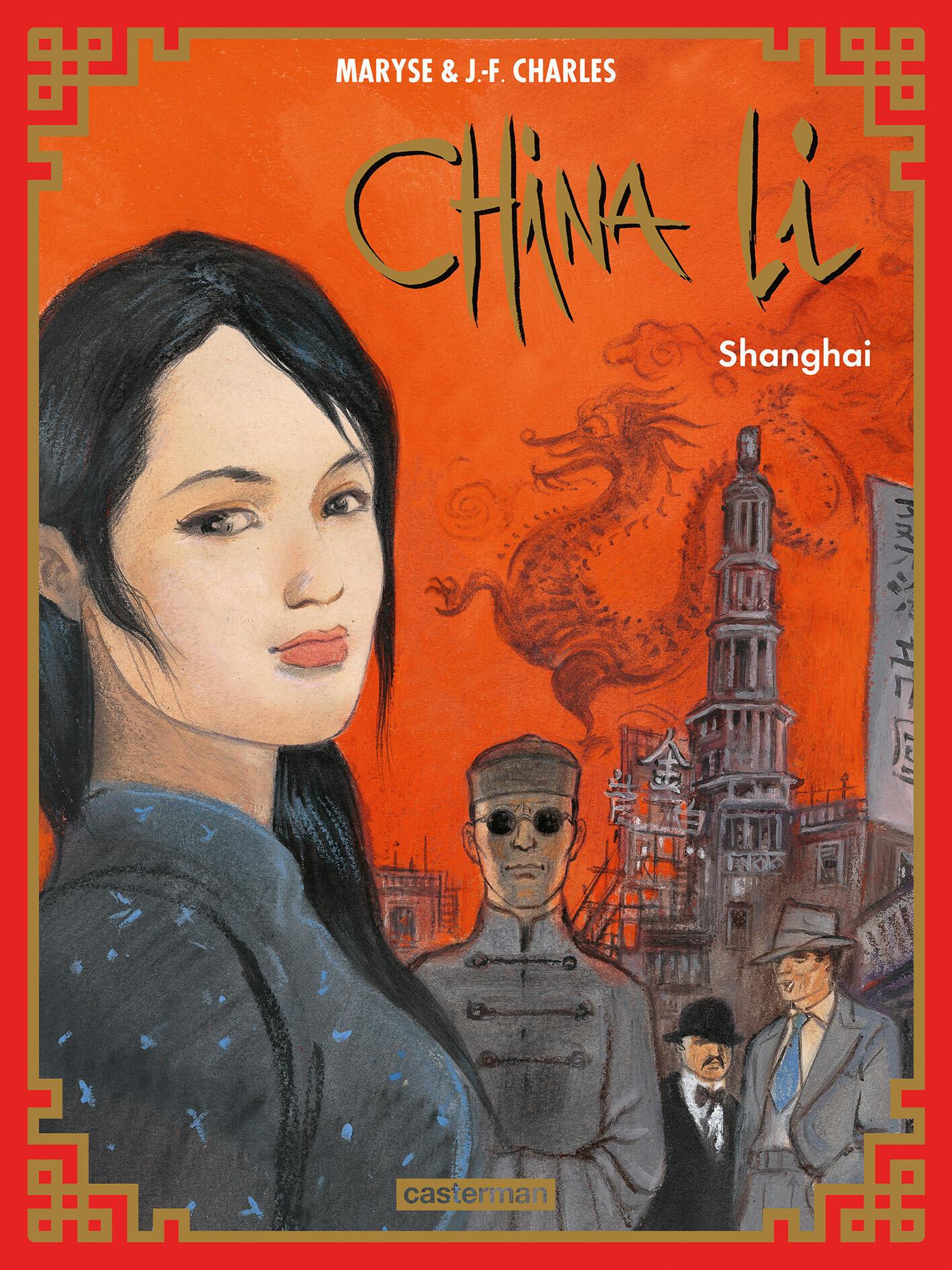 Couverture de la bande dessinée «China Li» de Maryse et Jean-Fraçois Charles.