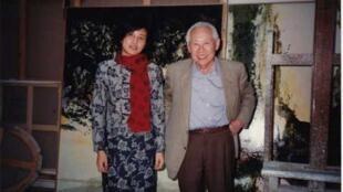作者1997年3月12日拜访赵无极