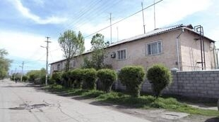 Casa onde a famíliaTsarnaev morou em Tokmok, no Quirguistão, depois de deixar a Chechênia nos anos 90.