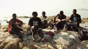 Mbanaye Bendi kutoka Malawi wakifanya Mazoezi kabla ya Tamasha la Sauti za Busara