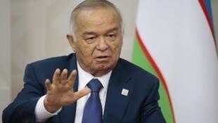 烏茲別克斯坦總統卡里莫夫 (2015年7月)