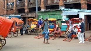 Le centre-ville d'Antsirabe, la ville dont le couvent a été attaqué début avril (photo d'illustration).