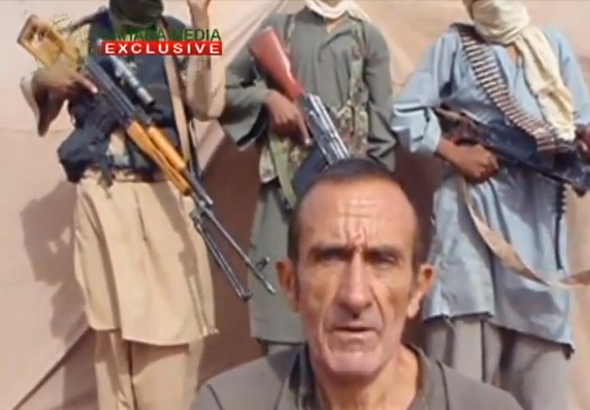 Даниэль Ларриб, кадр из видеозаписи с сайта Сахара Медиа