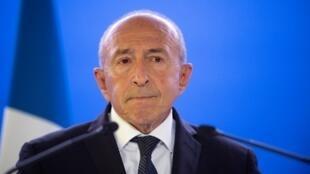 Gérard Collomb, le 28 septembre 2018.