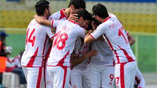L'équipe tunisienne lors du Chan 2016.