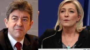 Segundo pesquisa, Sarkozy e Hollande perderam dois pontos, enquanto a extrema-esquerda e a extrema-direita ganharam entre 1% e 1,5%.