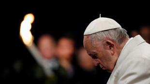 Kiongozi wa kanisa katoliki duniani Papa Francisco