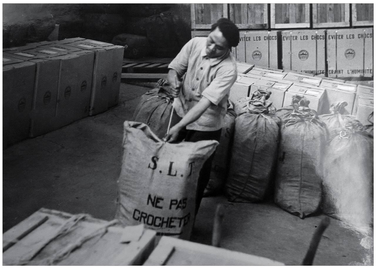Travailleurs indochinois - Lyon - 2e guerre mondiale