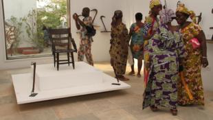 Wasu daga cikin kayayyakin tarihin da Faransa ta dawo wa da Benin