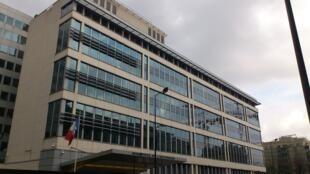 L'homme a été interpellé en France par les services de renseignements intérieurs (DGSI). Ici, le siège de la DGSI à Levallois-Perret, près de Paris.