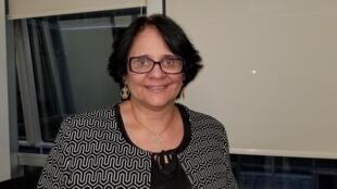 A ministra Damares Alves, em Buenos Aires. 31/05/19