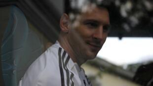 Jogador Lionel Messi, do Barcelona.