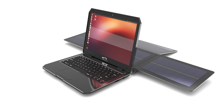 Sol est le premier ordinateur portable autonome grâce à l'énergie solaire.