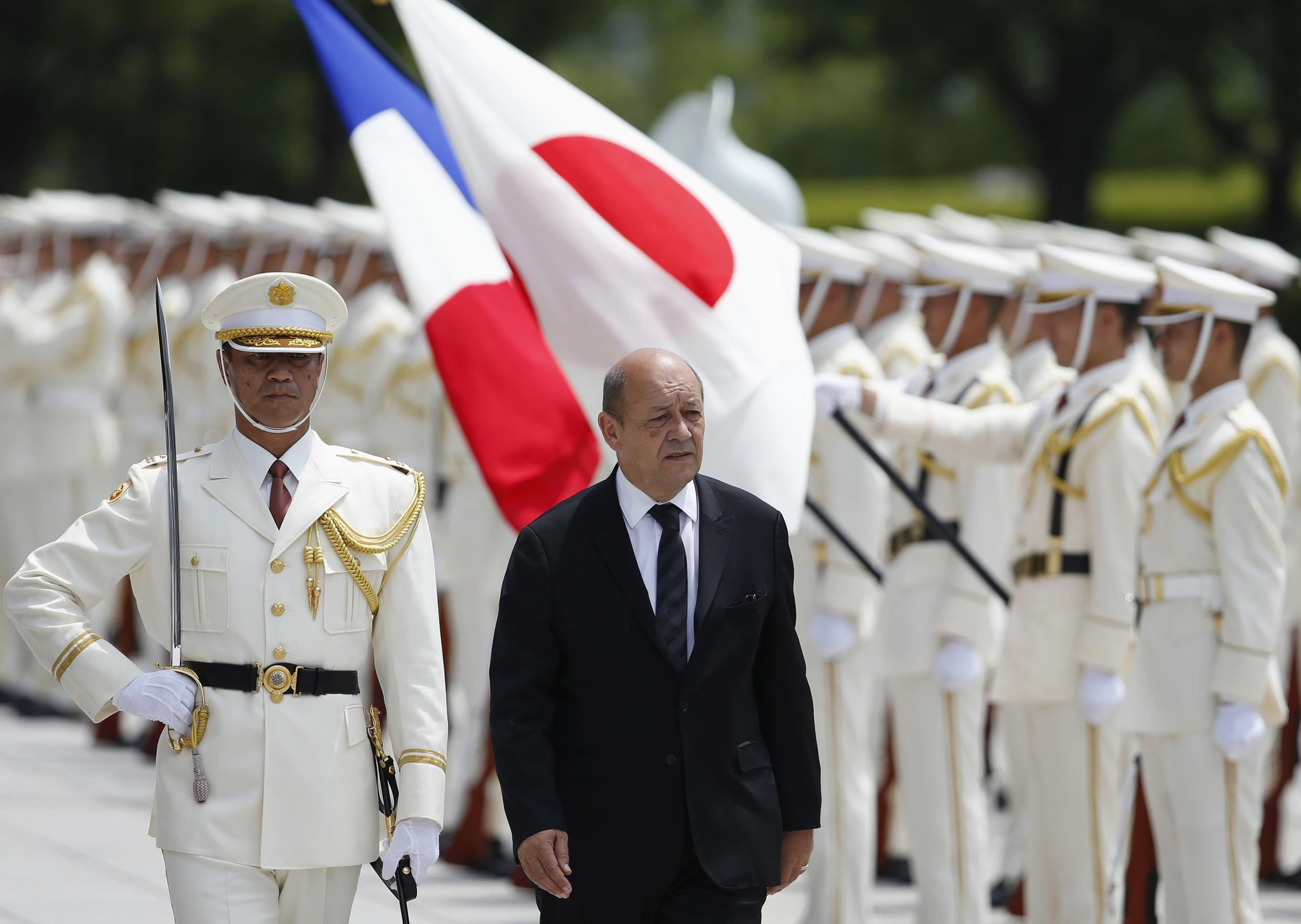 Operational troops will not be affected by the cuts, Defence Minister Jean-Yves Le Drian said on Wednesday