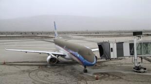 O aeroporto de San Carlos de Bariloche permanece fechado desde sábado por falta de visibilidade.