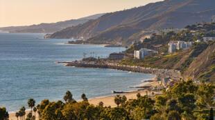 网传美国加州海岸景色