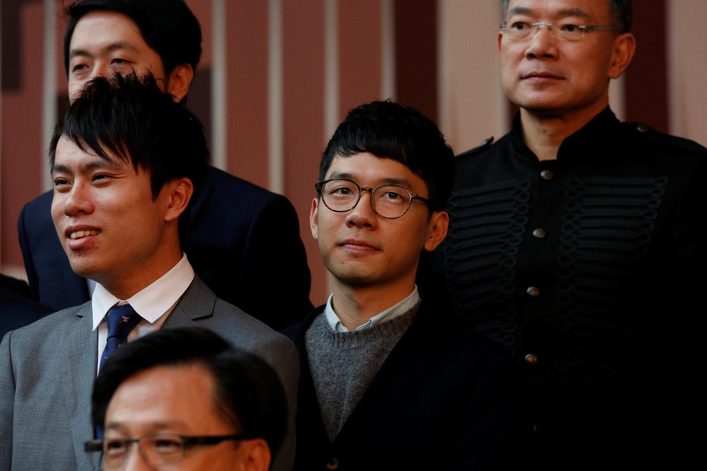 Le juriste et démocrate hongkongais Nathan Law, à Hong Kong, le 29 novembre 2016.