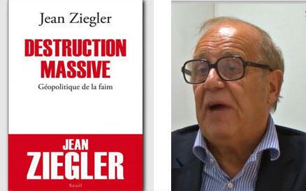 Jean Ziegler et son livre « Destruction Massive ».