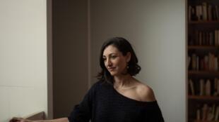 Portrait de l'écrivaine Violaine Huisman.