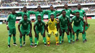 Le 11 des juniors zambiens vainqueurs de la CAN U20