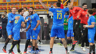 Brasil - Andebol - Desporto - Handball - Selecção Brasileira - Egipto