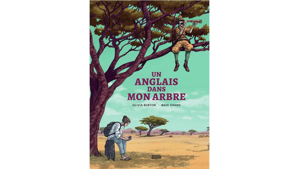 Couverture de la bande dessinée «Un Anglais dans mon arbre».