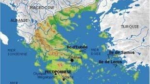 Греческий остров Самос находится в нескольких километрах от берегов Турции