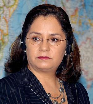 La canciller mexicana Patricia  Espinosa