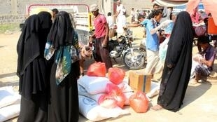 Humanitarian agencies describe a deteriorating situation in the Huthi-controlled north where aid workers face arrest and intimidation as they attempt to distribute food to millions in dire need after five years of conflict