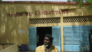 Ndjamena. 7 mais 2010. Le président de l'association des Anciens combattants du Tchad, Moussa Dana.