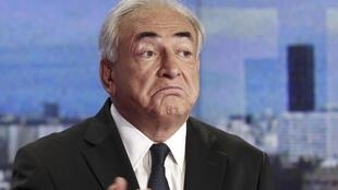 Dominque Strauss-Kahn em entrevista à televisão francesa.